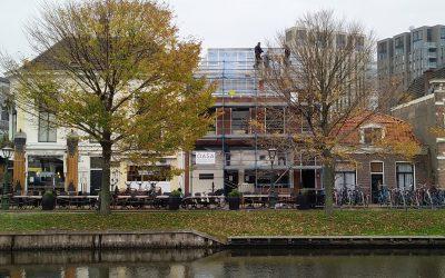 Realisatie van nieuwe appartementen aan de Rijnsburgersingel