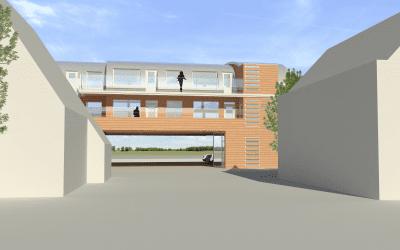 Loods Hoge Rijndijk maakt plaats voor appartementen