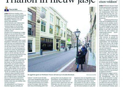 trianon kranten artikel